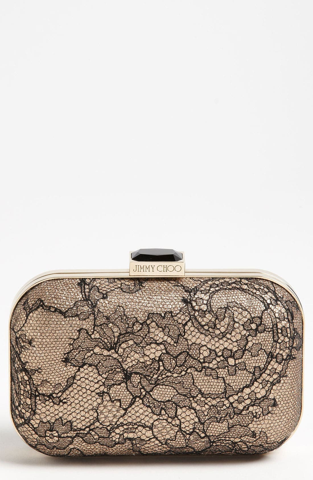 Alternate Image 1 Selected - Jimmy Choo 'Cloud Lace' Box Clutch