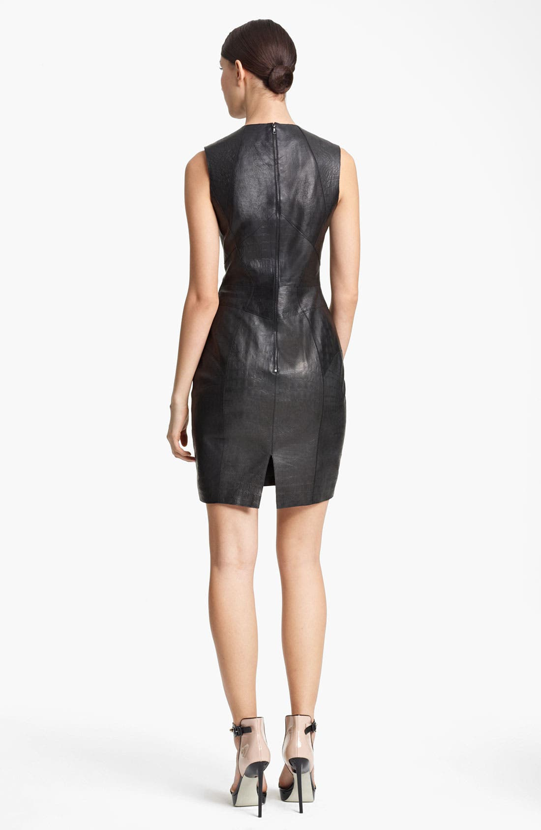 Alternate Image 2  - Jason Wu Floral Print Silk Chiffon Dress