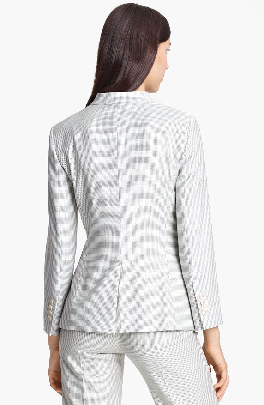 Alternate Image 3  - Armani Collezioni One Button Jacket