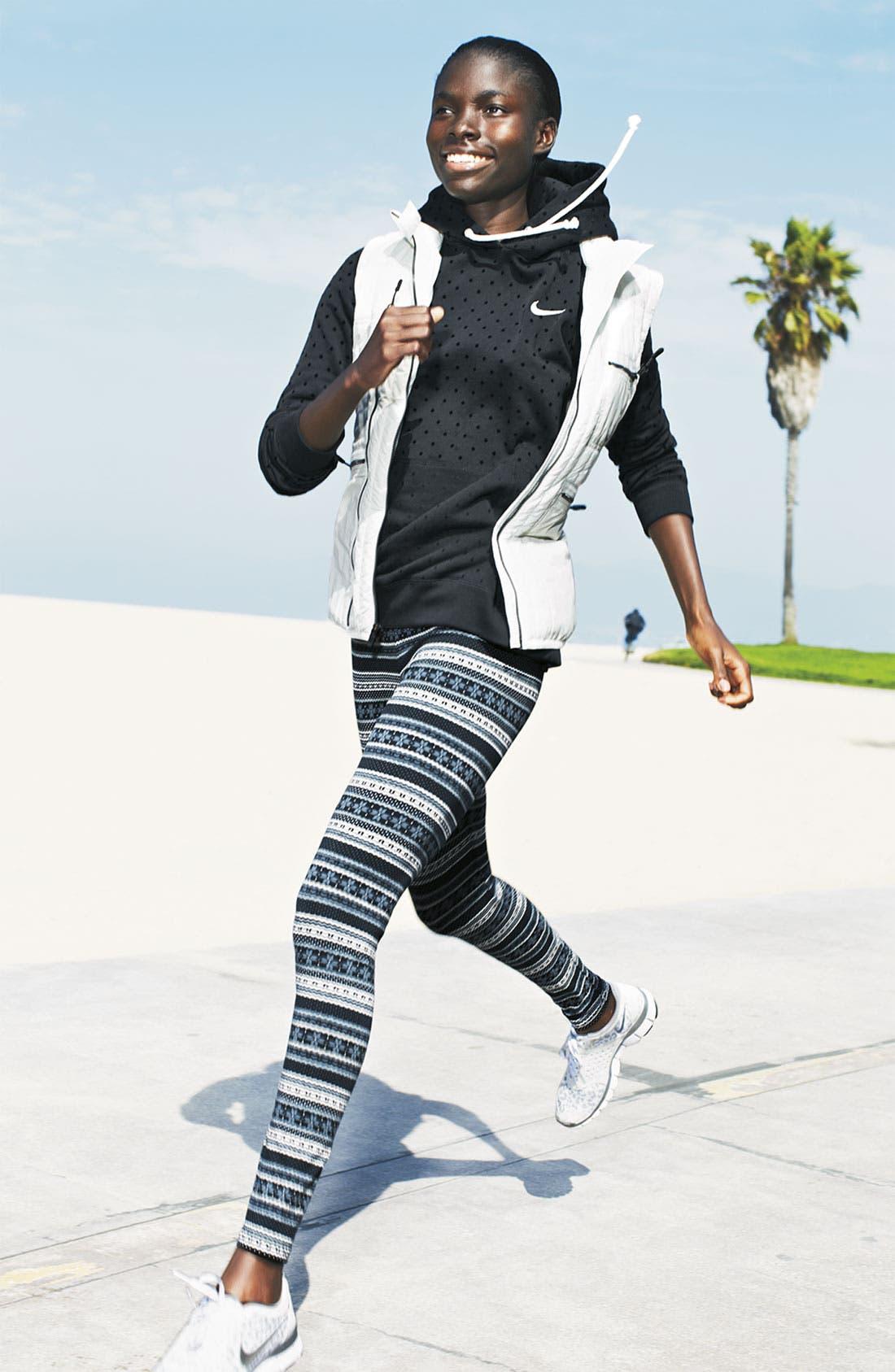 Alternate Image 5  - Nike 'Squad' Fair Isle Leggings