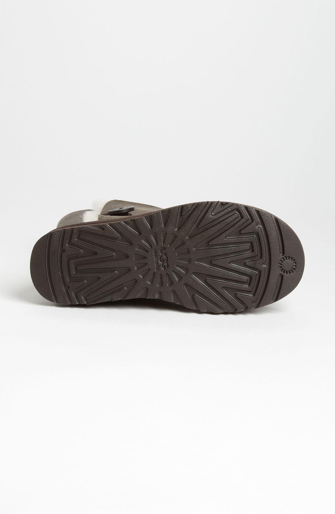 Alternate Image 4  - UGG® Australia 'Bailey Button Bomber' Boot (Women)