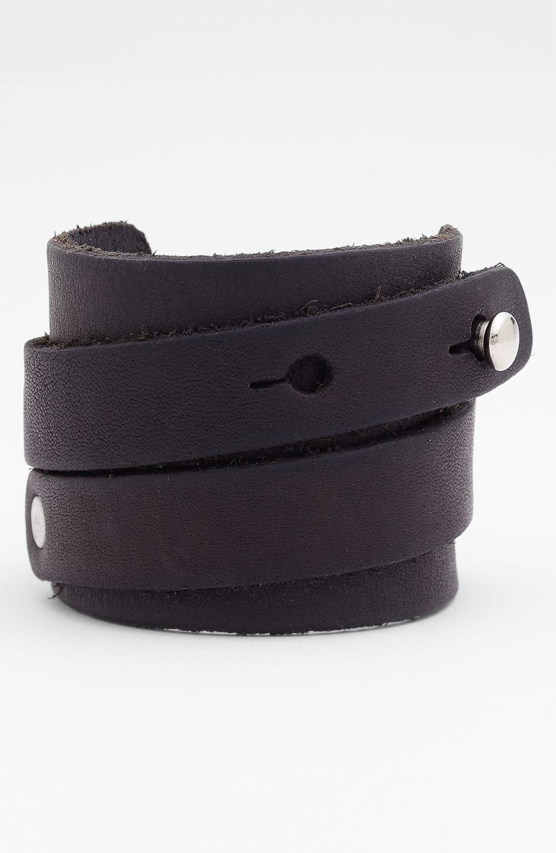 Alternate Image 1 Selected - Will Leather Goods 'Road House' Bracelet