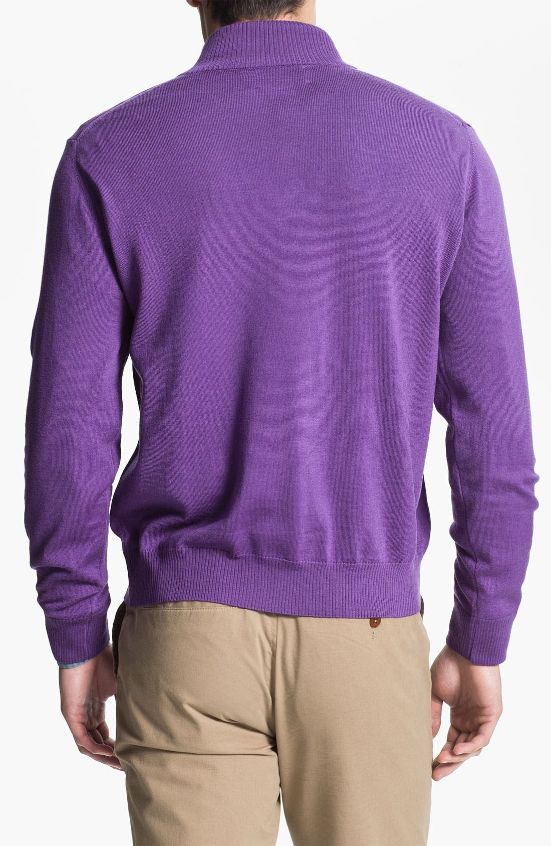 Alternate Image 2  - Thomas Dean 'Louisiana State University' Wool Sweater