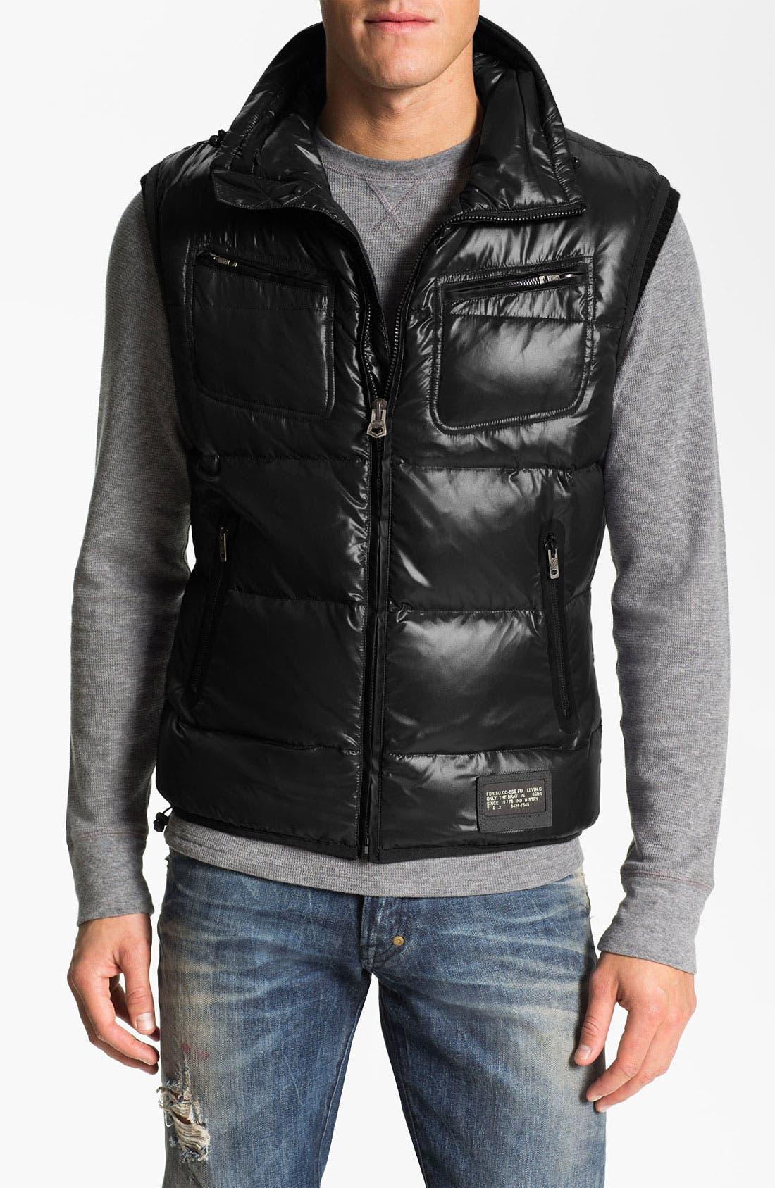 Alternate Image 1 Selected - DIESEL® 'Weris' Puffer Vest