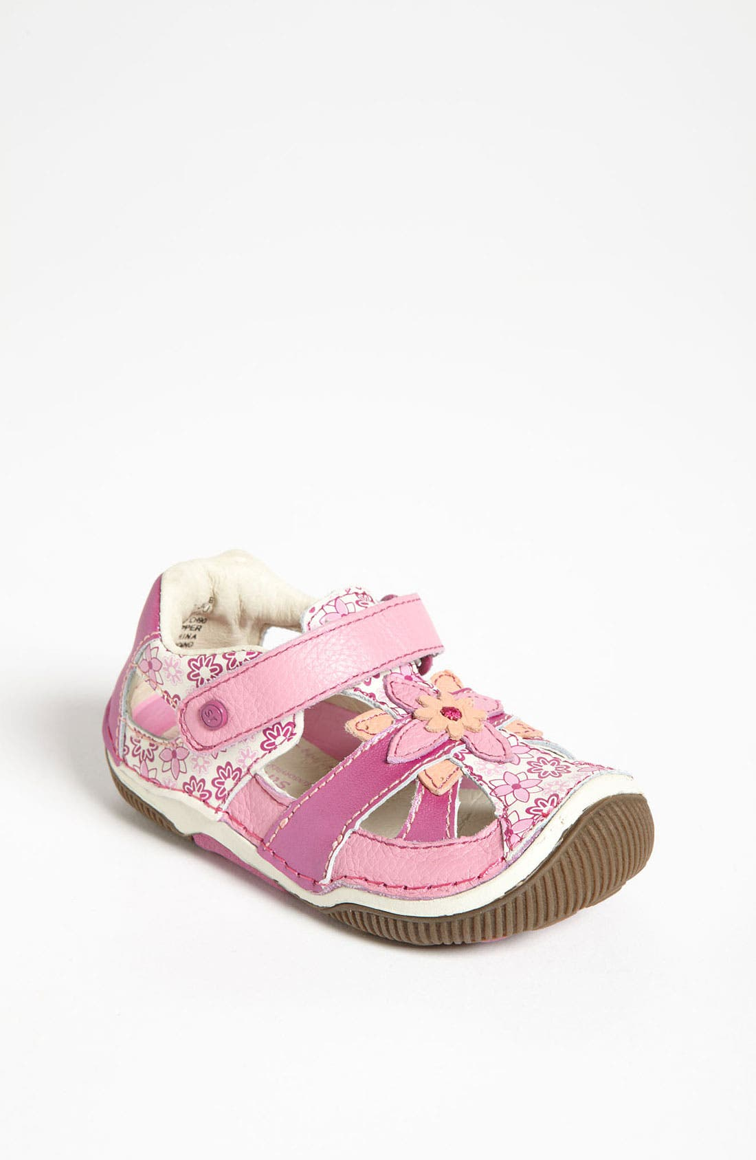 Alternate Image 1 Selected - Stride Rite 'Junie' Sandal (Baby, Walker & Toddler)
