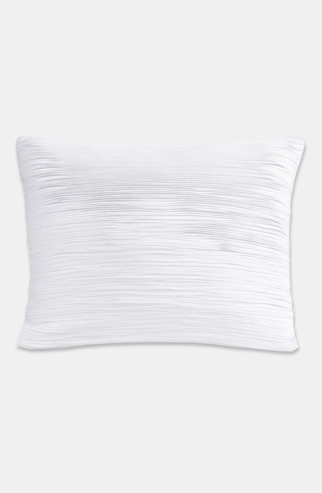 Main Image - Donna Karan 'Layered' Sateen Pillow