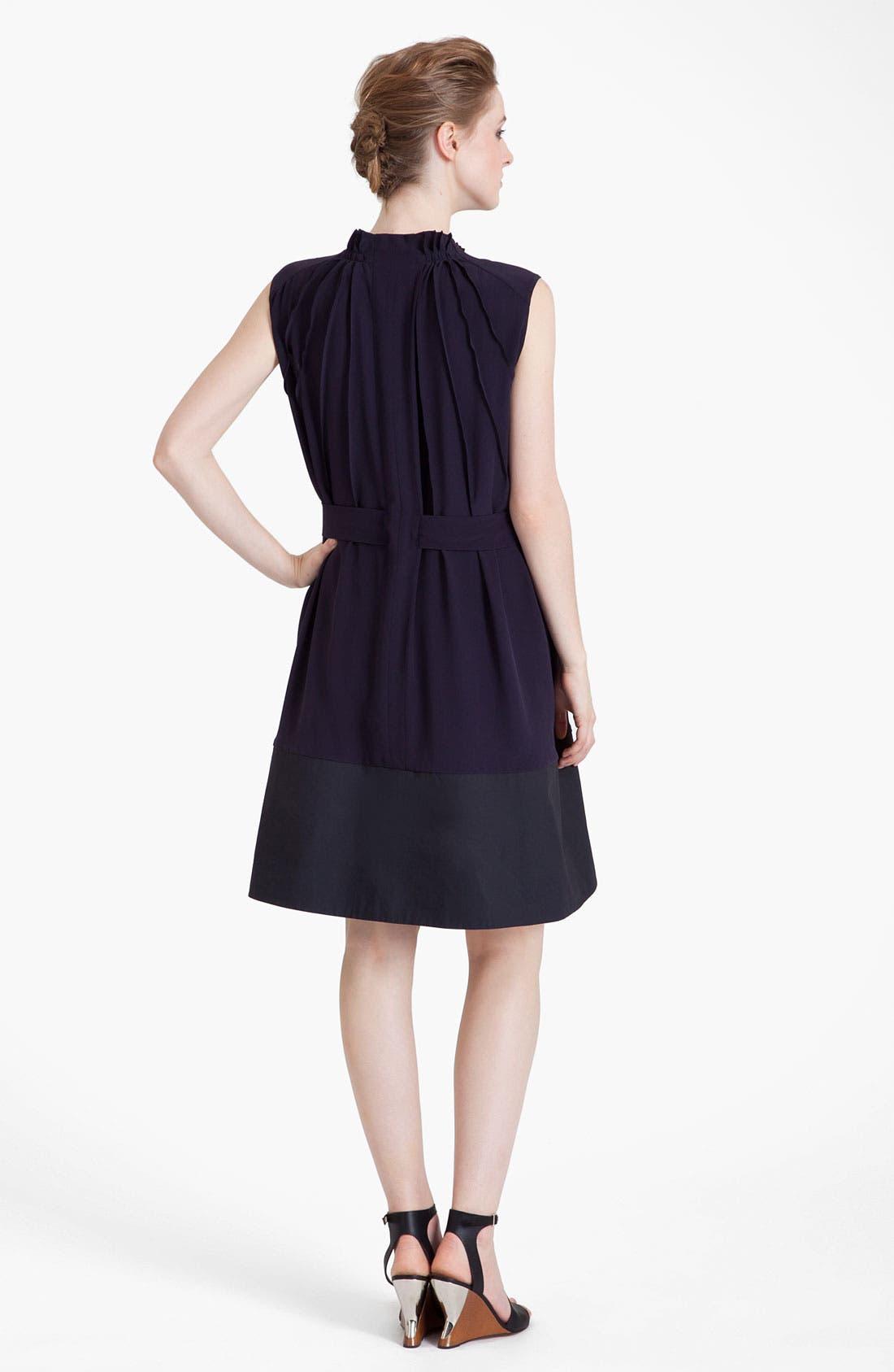 Alternate Image 2  - Marni Belted Silk Blend Crepe Dress