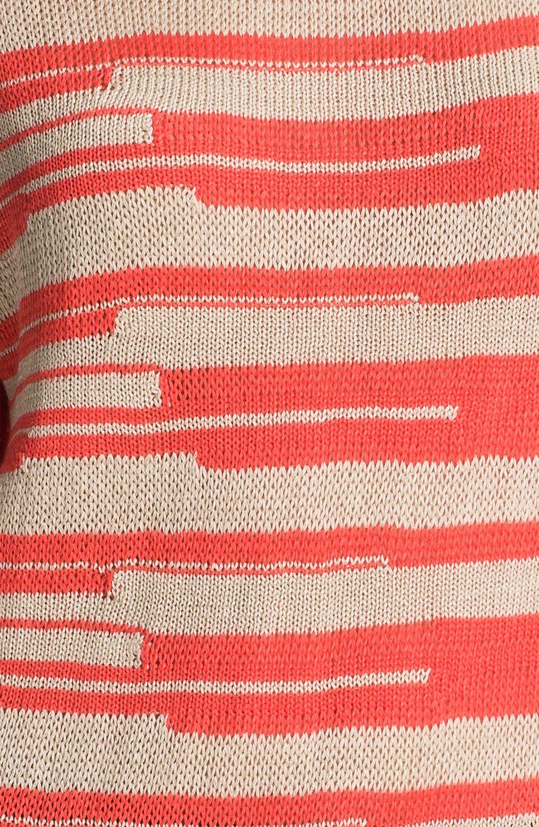 Alternate Image 3  - Amber Sun 'Lily' Stripe Sweater