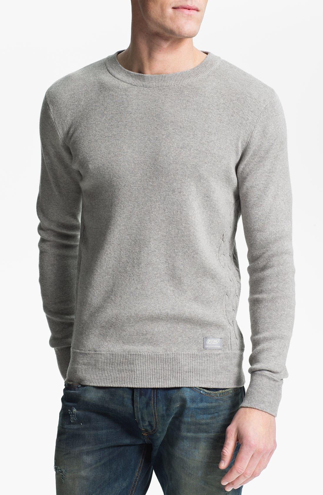 Main Image - 55DSL 'Kiramic' Crewneck Sweater