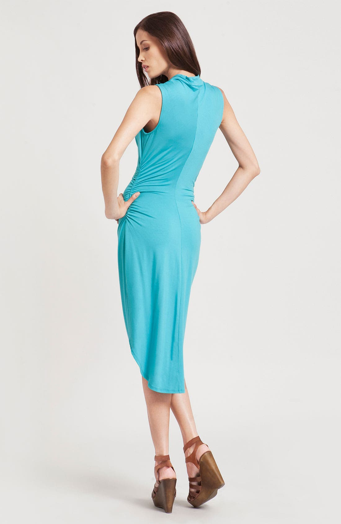 Alternate Image 2  - Three Dots Cowl Neck Sheath Dress