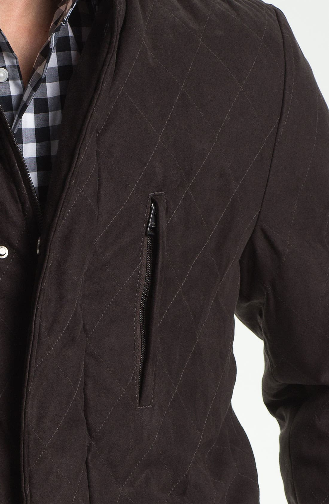 Alternate Image 3  - Allegri 'City Caban' Water Repellent Quilted Jacket