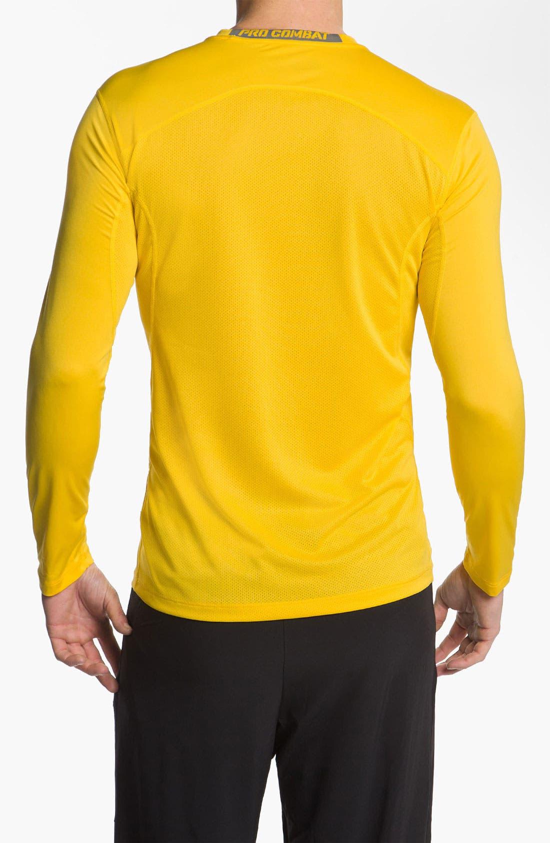 Alternate Image 2  - Nike 'Core 2.0' Fitted Long Sleeve T-Shirt (Regular Retail Price: $32.00)
