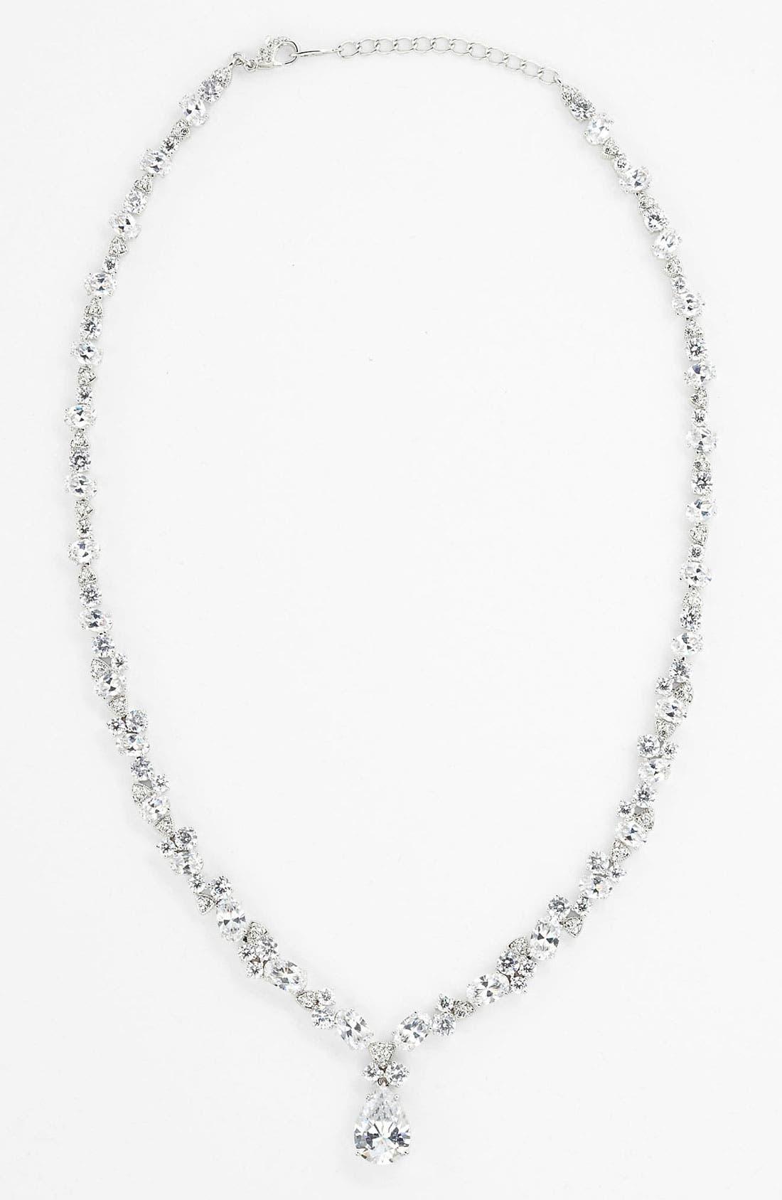 Main Image - Nadri Teardrop Pendant Necklace (Nordstrom Exclusive)