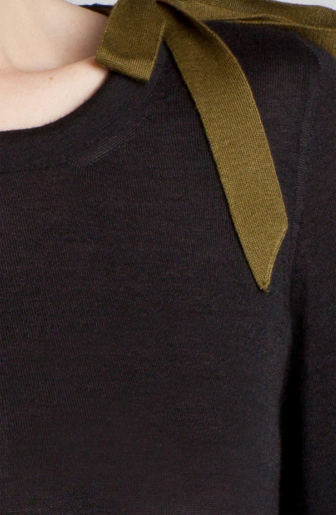 Alternate Image 5  - Jil Sander Bow Detail Cashmere & Silk Sweater