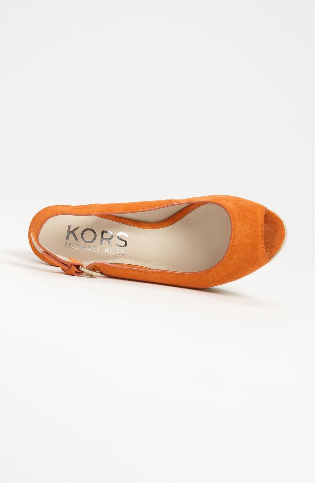Alternate Image 3  - KORS Michael Kors 'Keelyn' Sandal