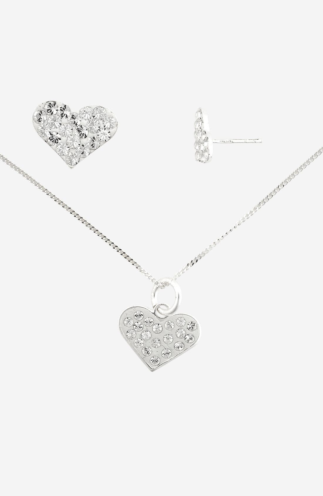 Main Image - Tomas Necklace & Earrings Set (Girls)