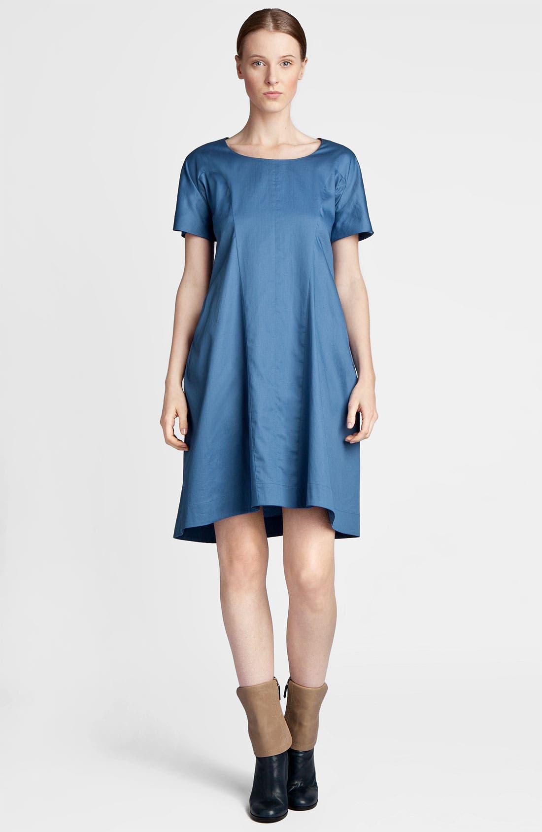 Alternate Image 1 Selected - Jil Sander Compact Satin Dress