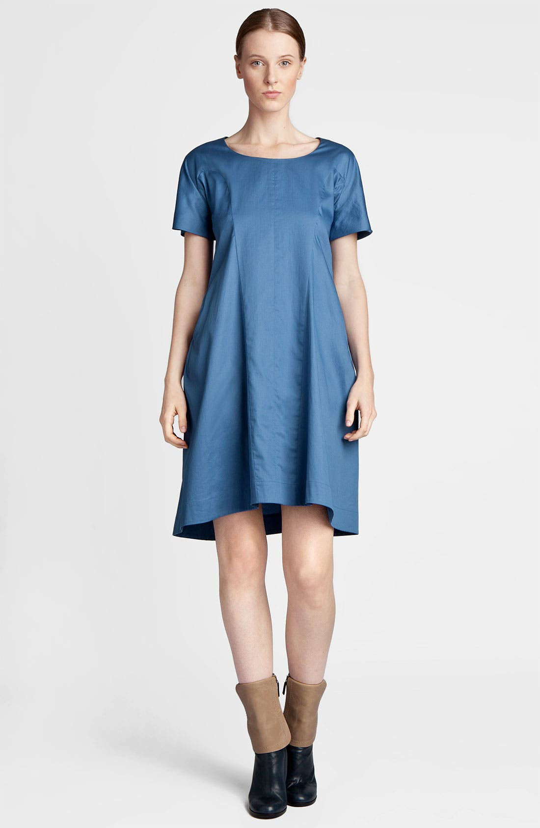 Main Image - Jil Sander Compact Satin Dress