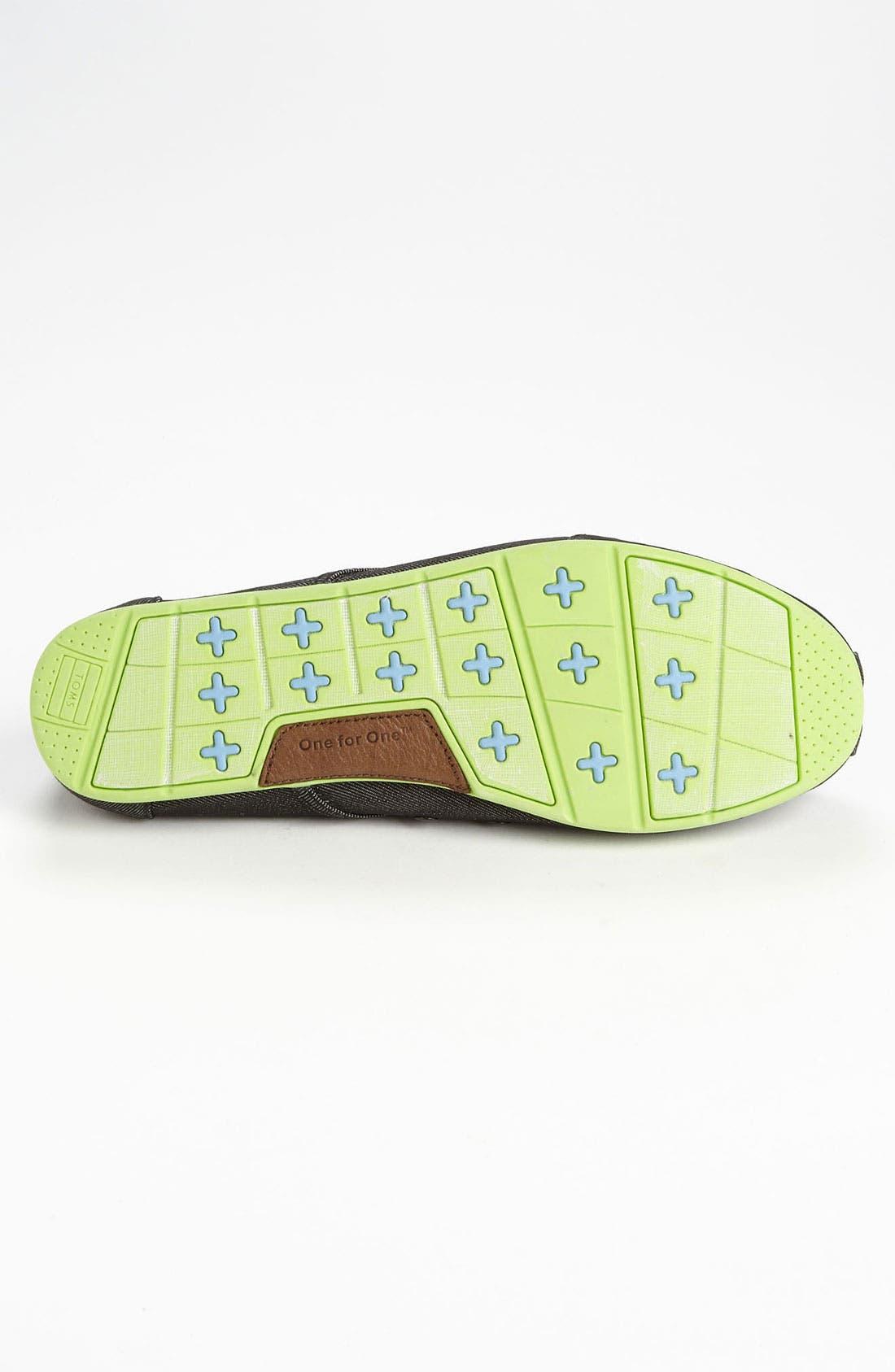 Alternate Image 4  - TOMS 'Cordones' Denim Sneaker (Men)