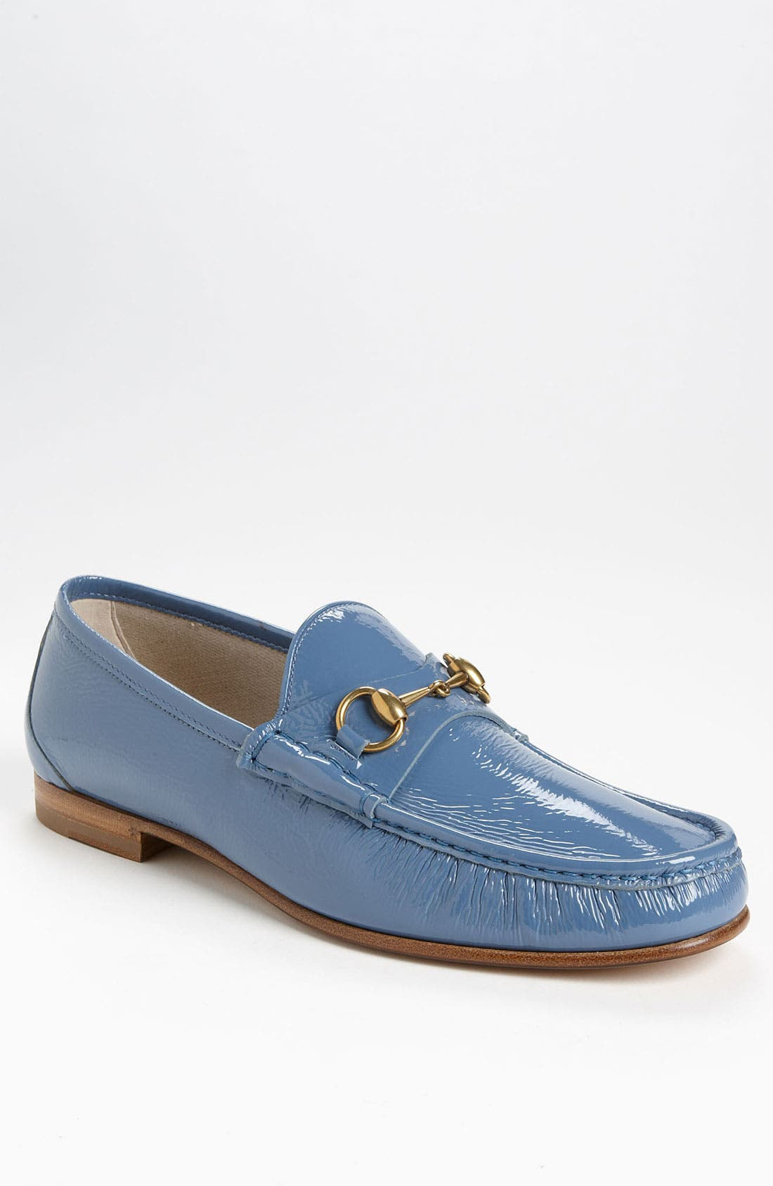 Main Image - Gucci 'Roos' Patent Bit Loafer