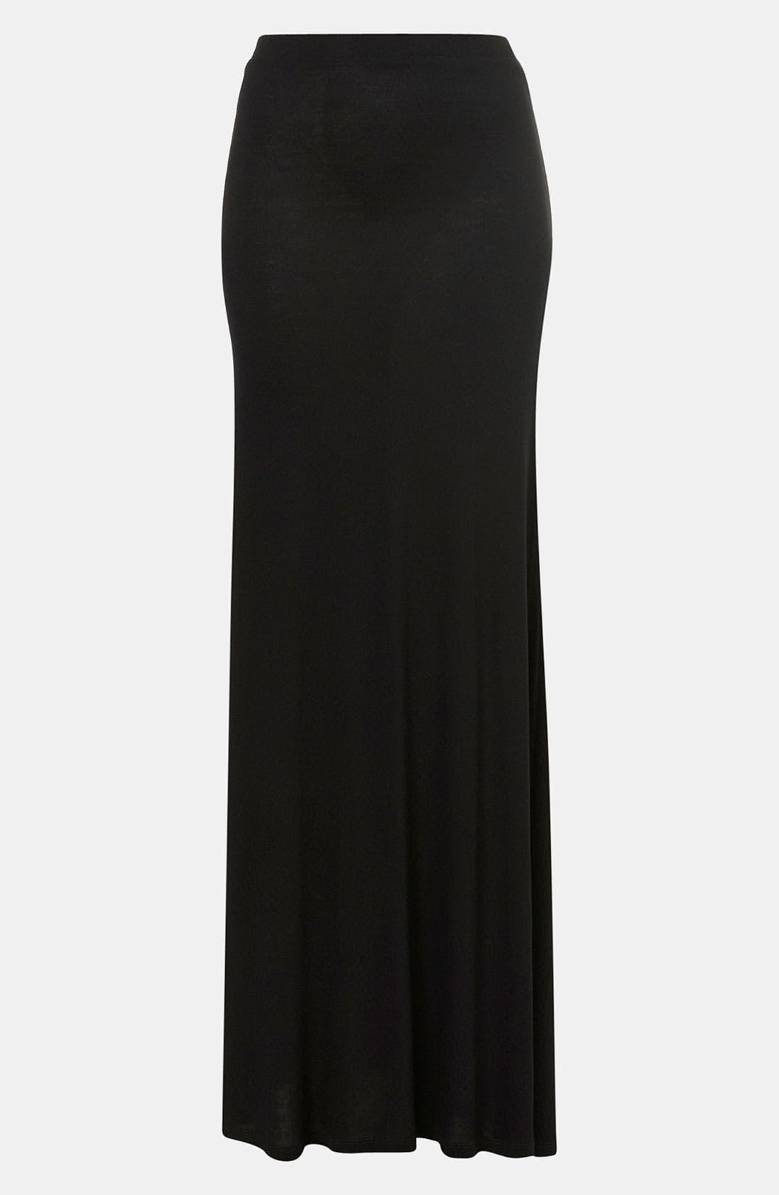 Alternate Image 1 Selected - Topshop Maxi Skirt