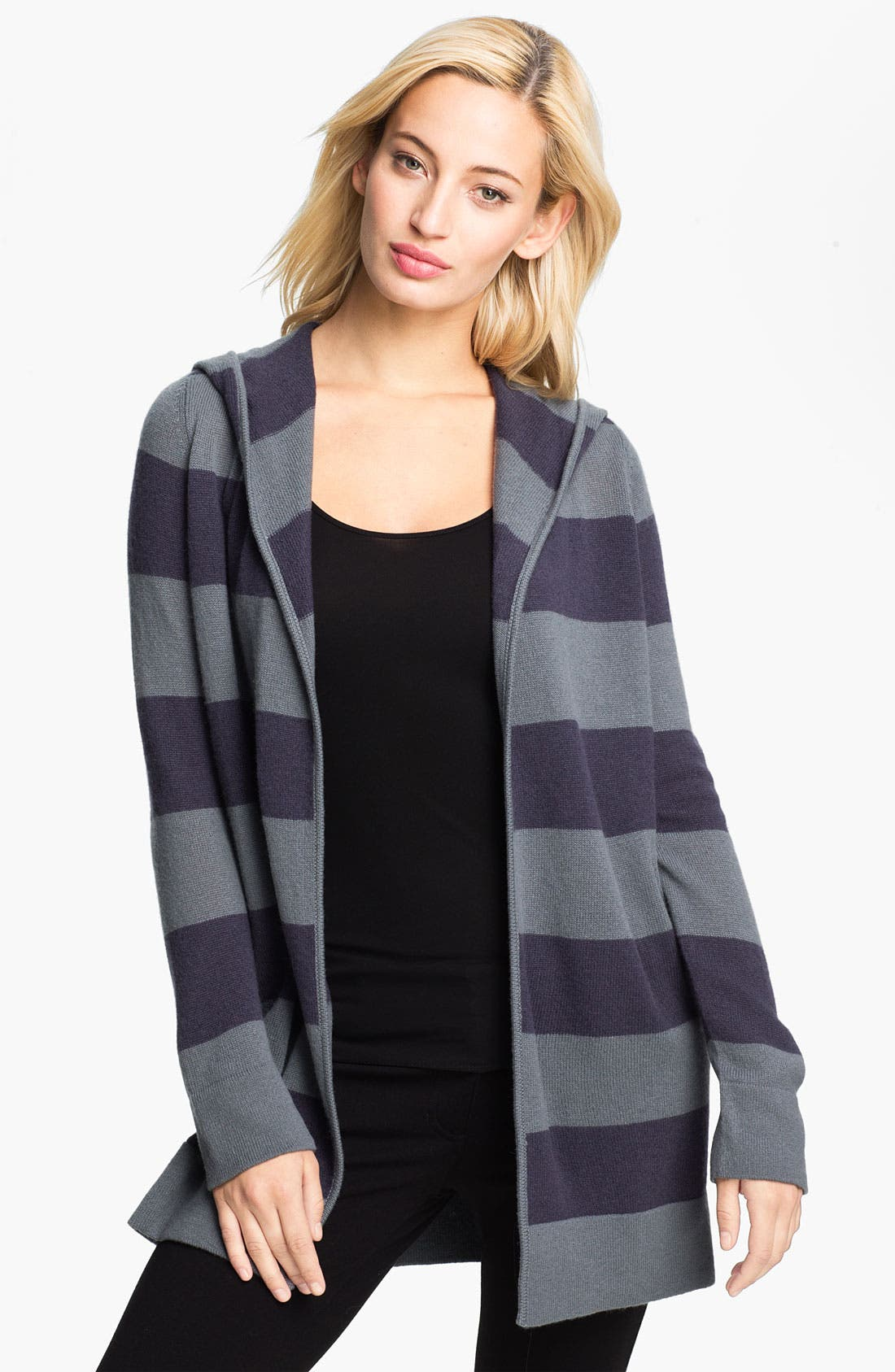 Main Image - Christopher Fischer 'Lara' Hooded Cashmere Cardigan (Online Exclusive)