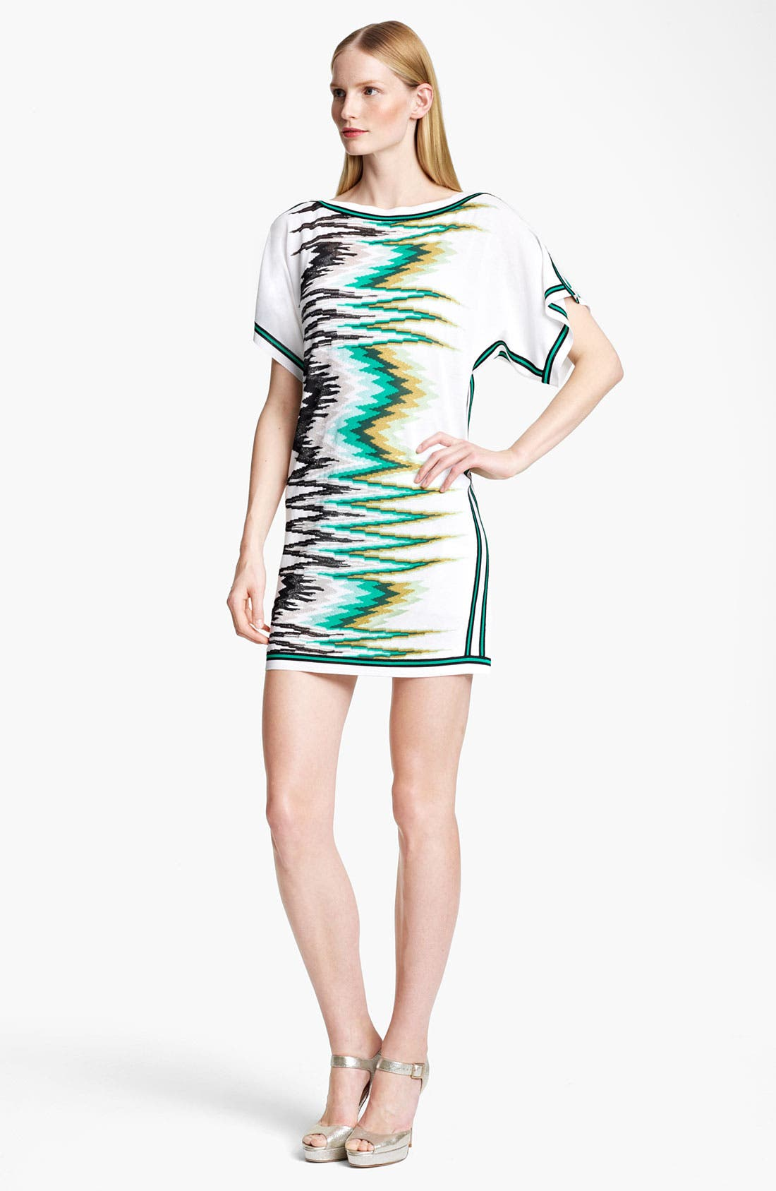 Alternate Image 1 Selected - Missoni Zigzag Embroidered Tunic