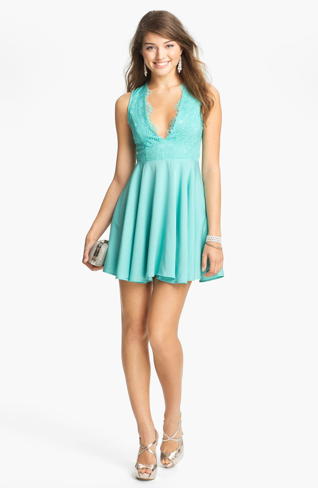Main Image - Keepsake the Label 'Need Your Love' Fit & Flare Dress