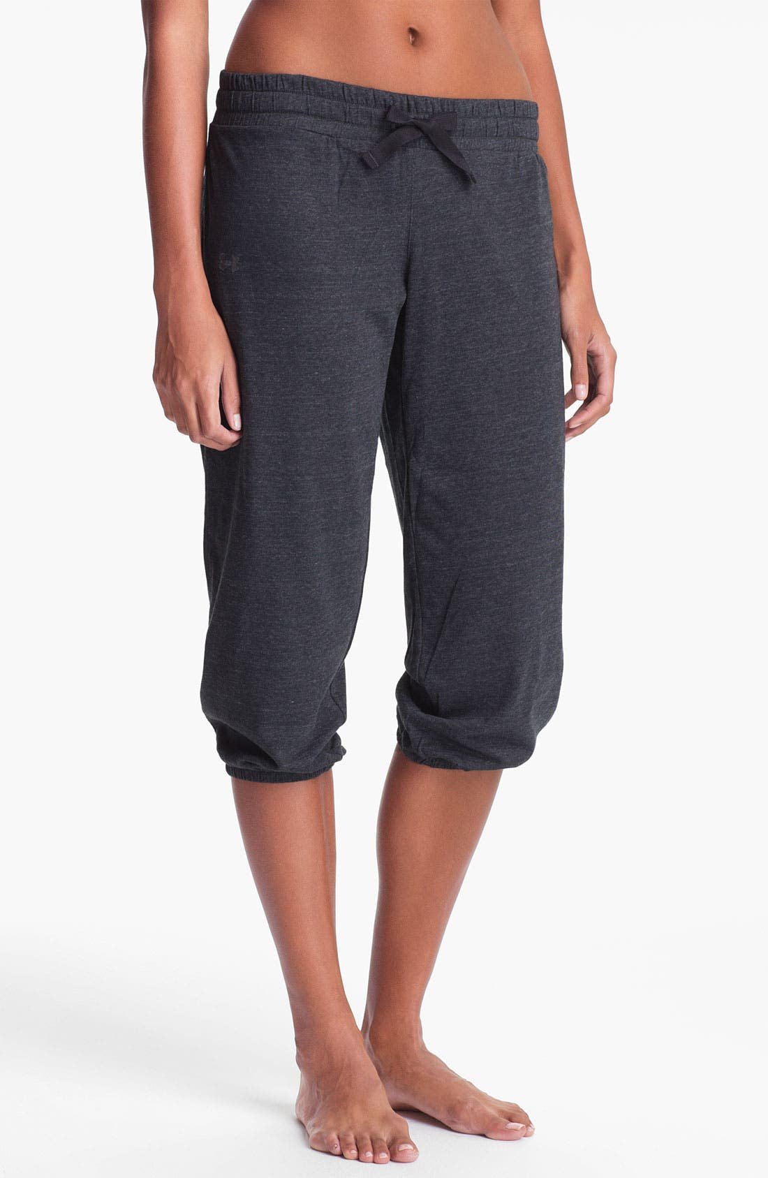 Alternate Image 1 Selected - Under Armour 'Undeniable' Charged Cotton® Capris