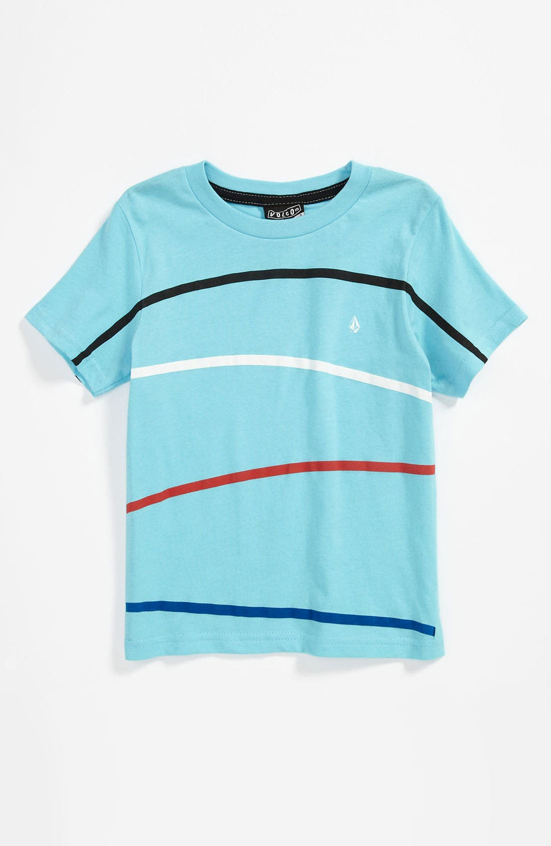 Alternate Image 1 Selected - Volcom 'Think' Stripe T-Shirt (Little Boys)