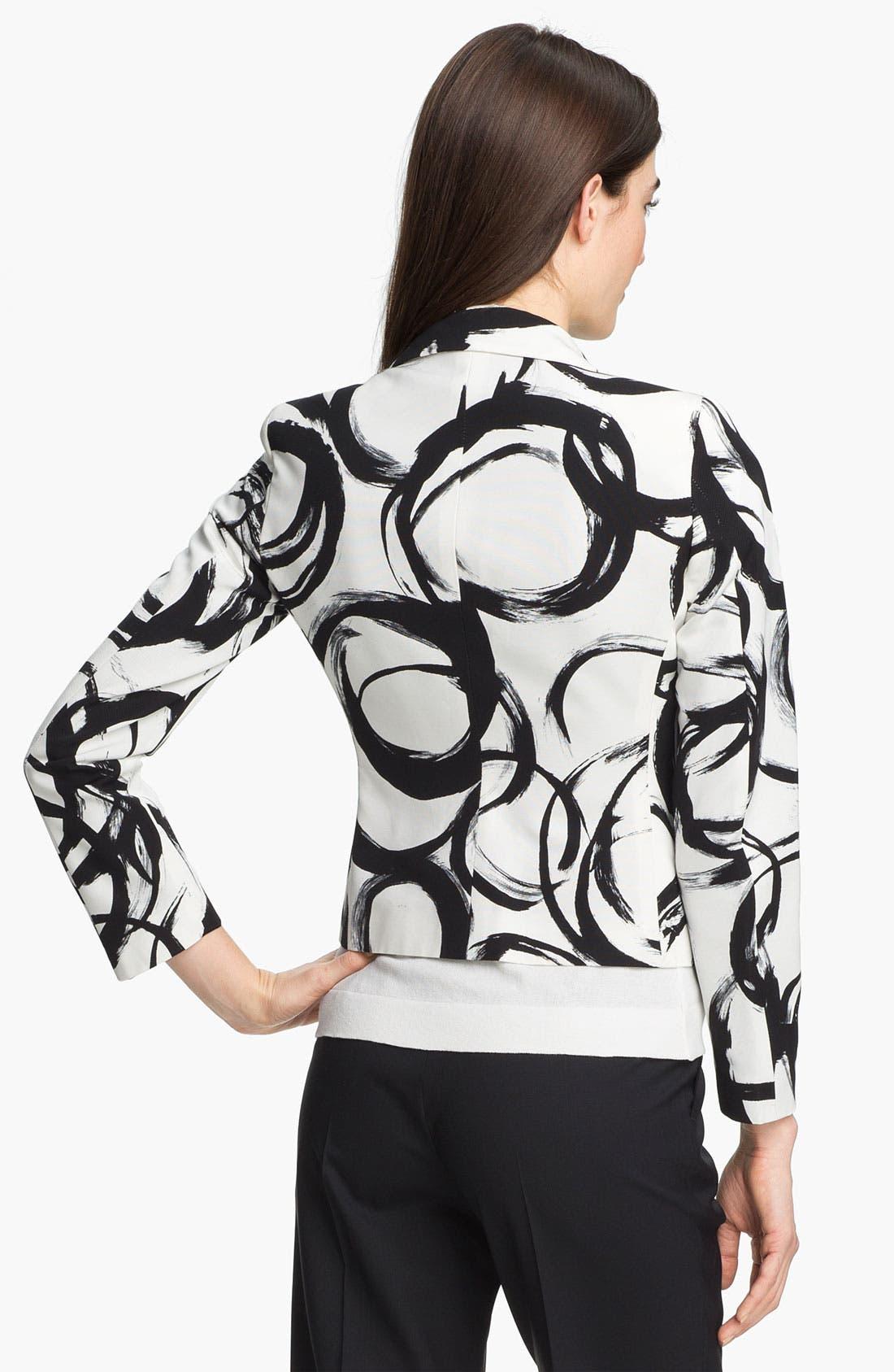 Alternate Image 2  - Zanella 'Ricky' Print Jacket