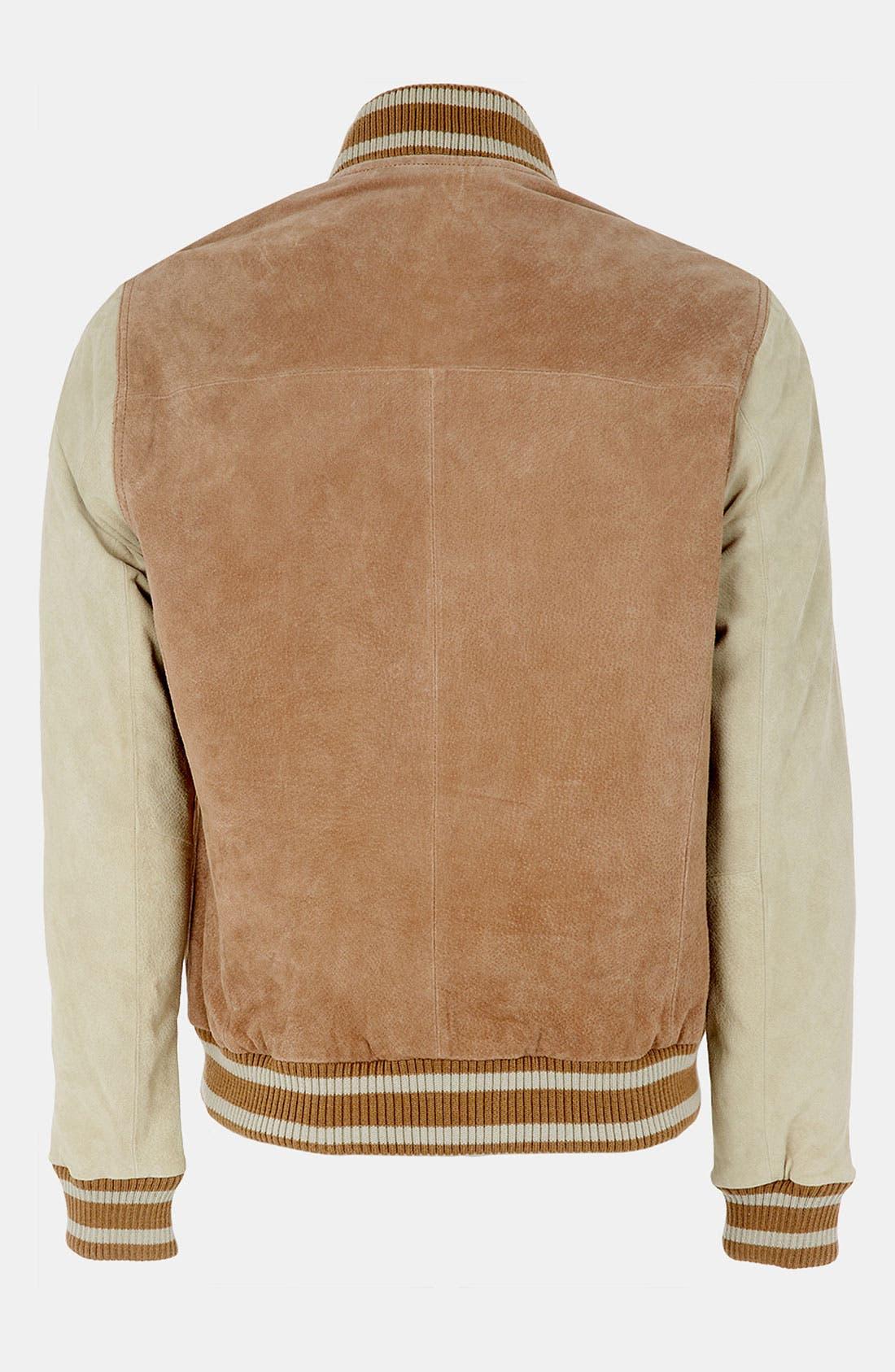 Alternate Image 2  - Topman 'Yale' Varsity Jacket