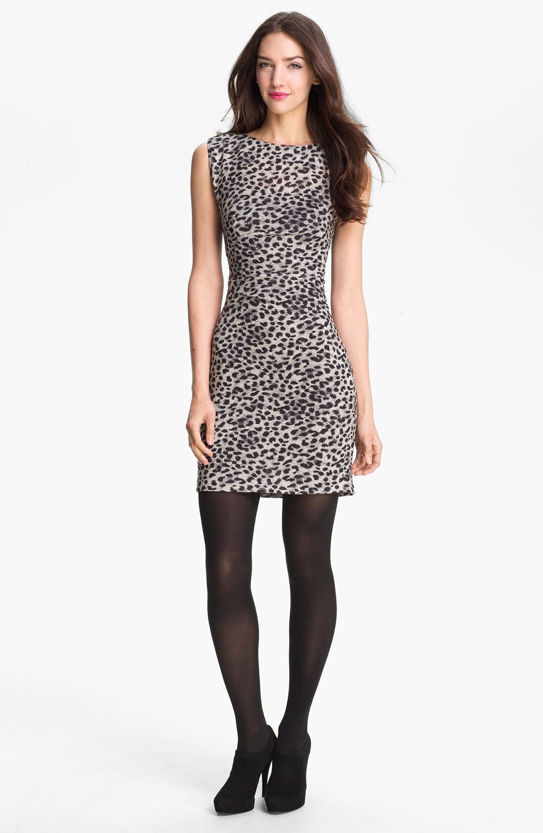 Alternate Image 1 Selected - Rebecca Taylor Print Sheath Dress
