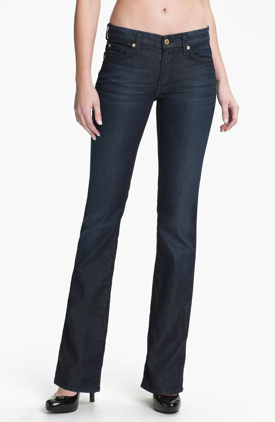 Alternate Image 1 Selected - 7 For All Mankind® 'Kimmie' Bootcut Jeans (Reflective Night Star)
