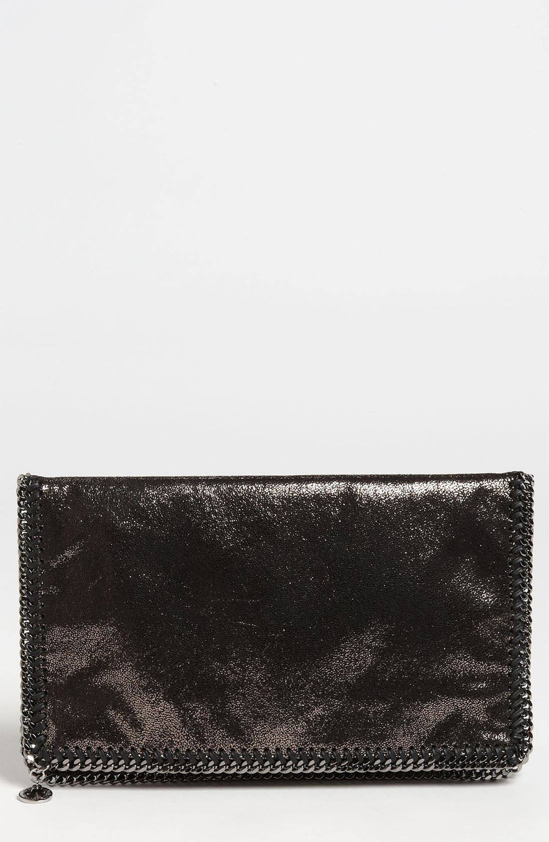 Main Image - Stella McCartney 'Falabella' Metallic Clutch