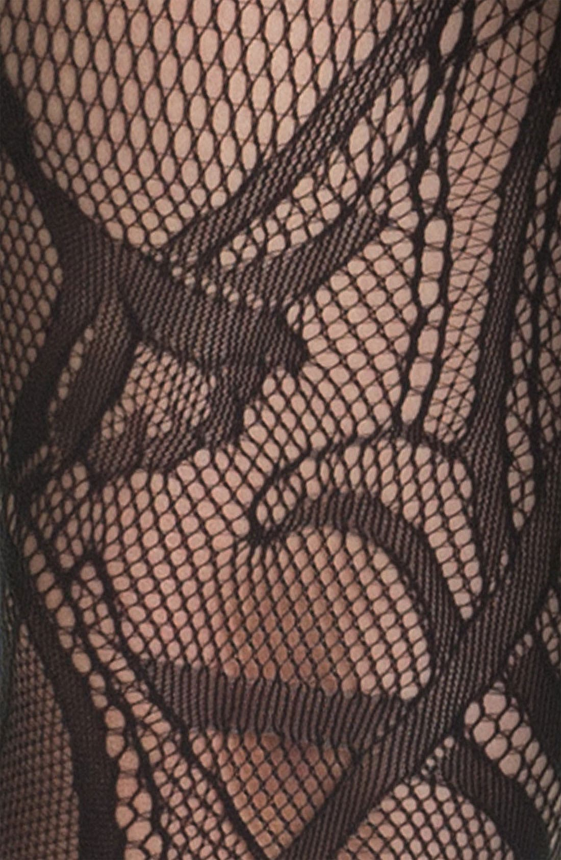 Alternate Image 2  - Wolford 'Art Nouveau' Tights