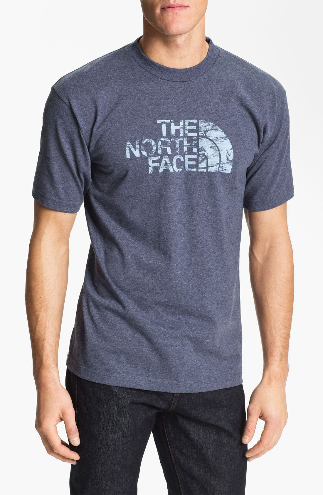 Alternate Image 1 Selected - The North Face 'Wooden Logo' T-Shirt