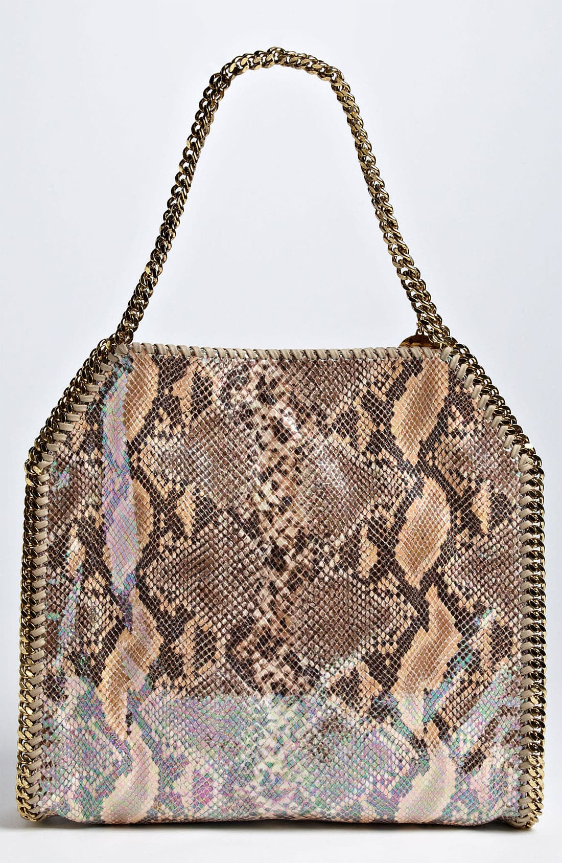 Alternate Image 4  - Stella McCartney 'Falabella - Small' Oleographic Faux Python Tote