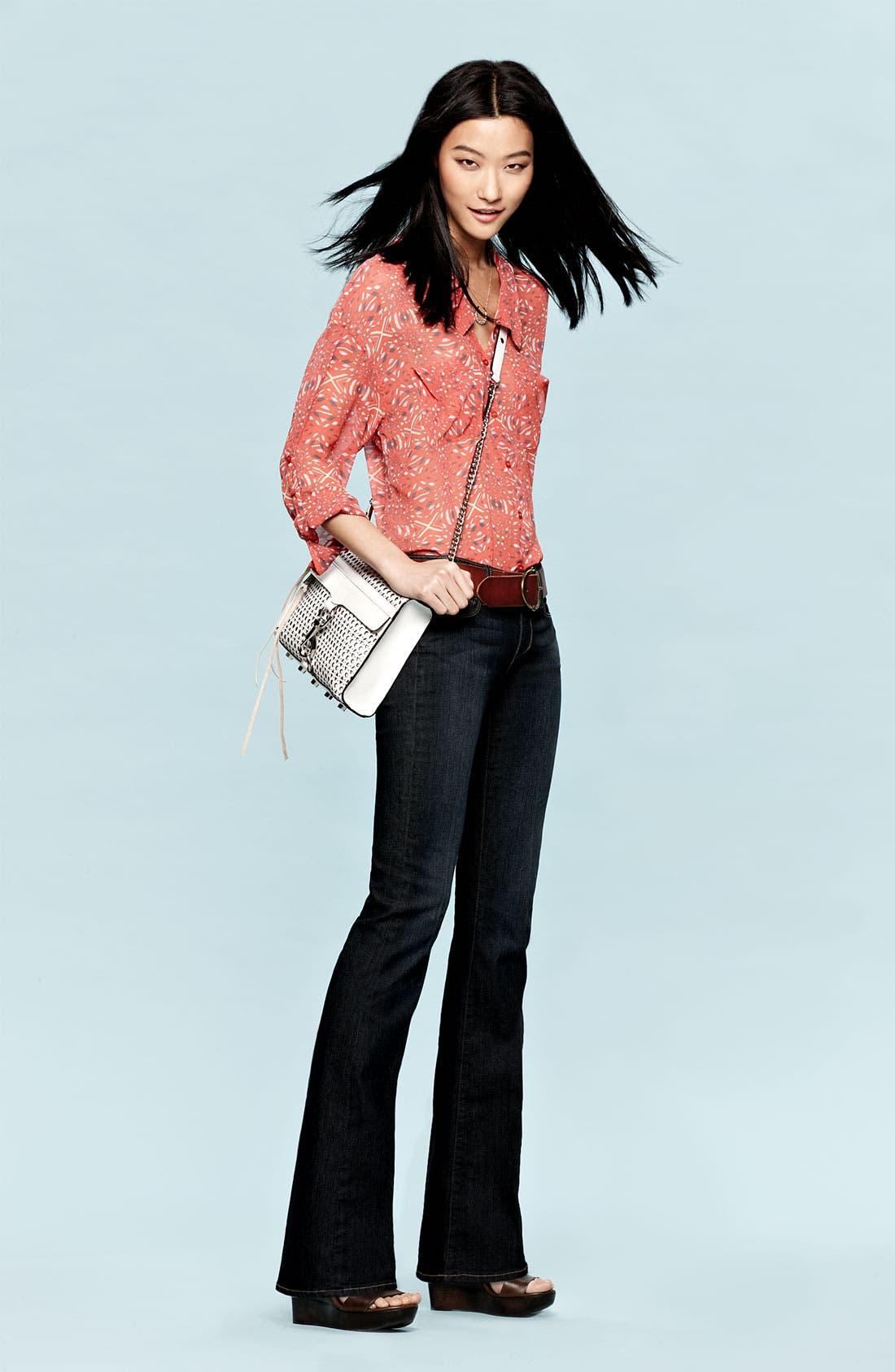 Alternate Image 4  - Paige Denim 'Skyline' Bootcut Stretch Jeans (Carson)