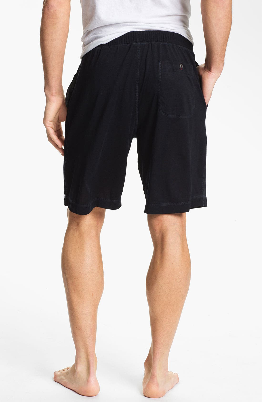 Alternate Image 2  - Daniel Buchler Silk & Cotton Shorts