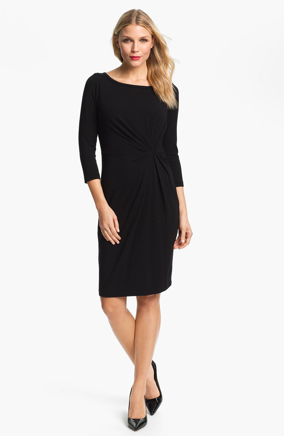 Alternate Image 1 Selected - Karen Kane Scoop Neck Dress