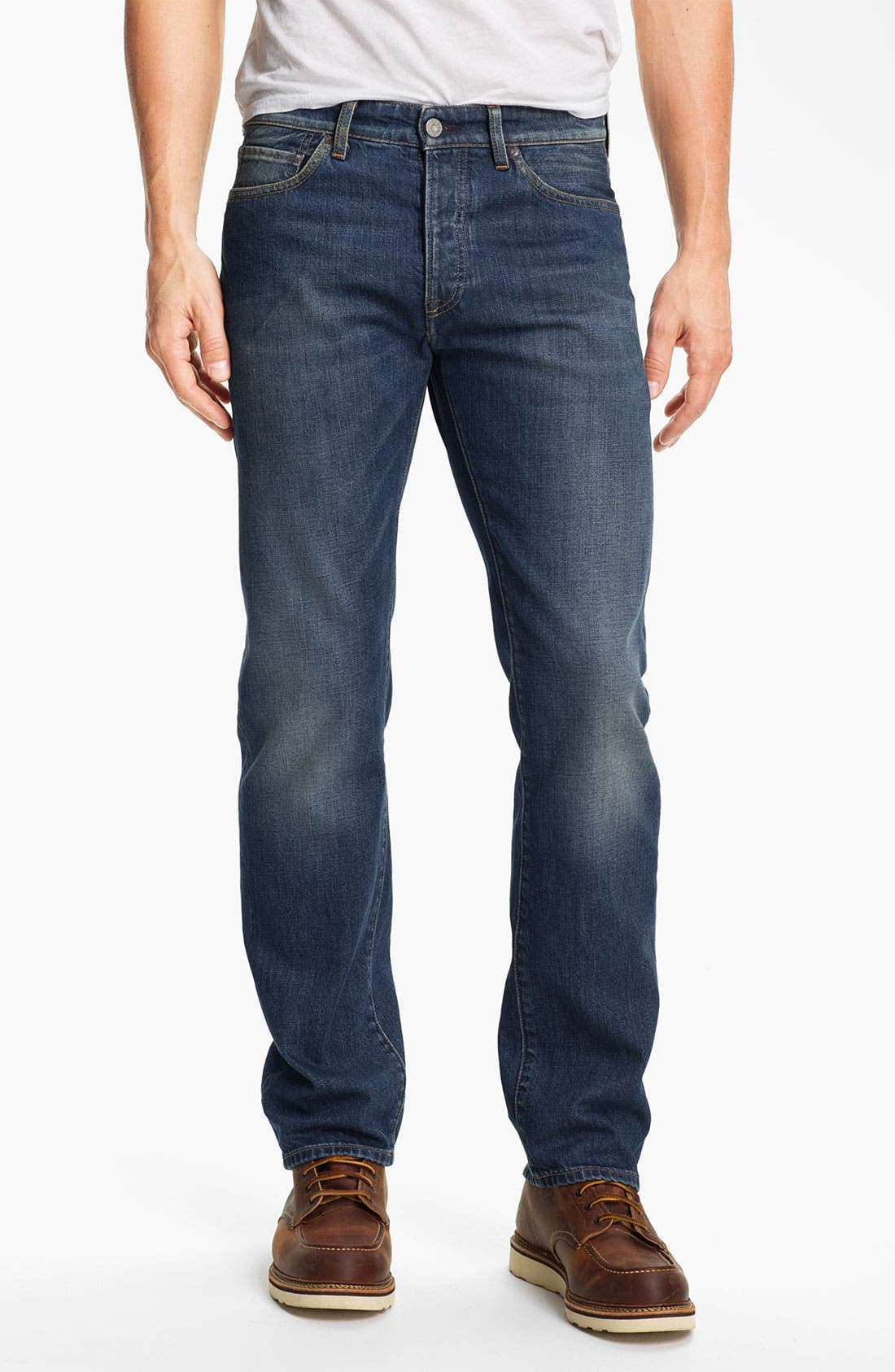 Main Image - Levi's® Made & Crafted™ 'Ruler' Straight Leg Jeans (Wave)
