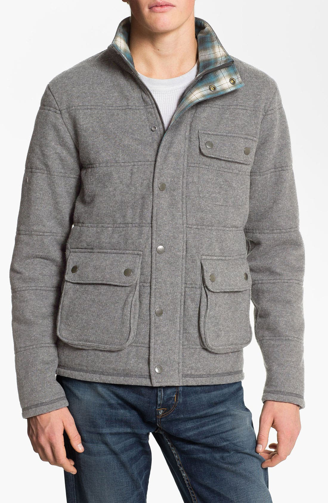 Alternate Image 1 Selected - BOSS Orange 'Znow' Quilted Jacket