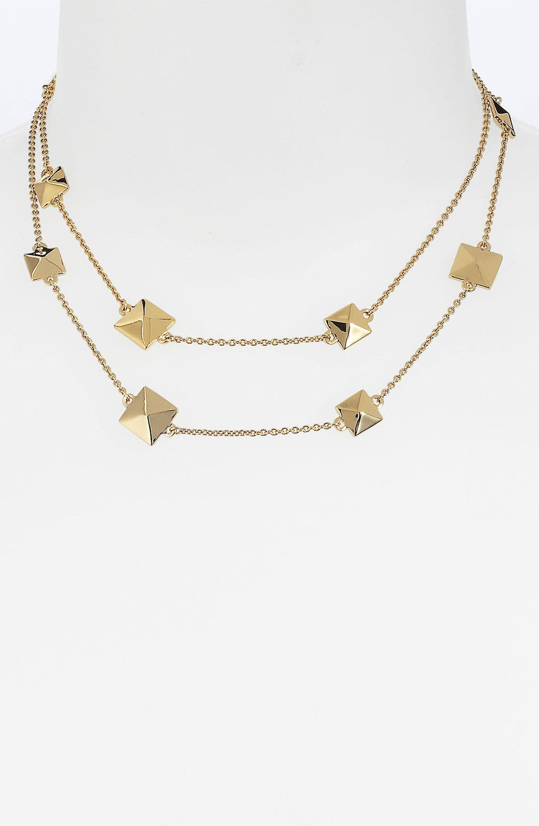 Alternate Image 2  - kate spade new york 'locked in' long pyramid necklace