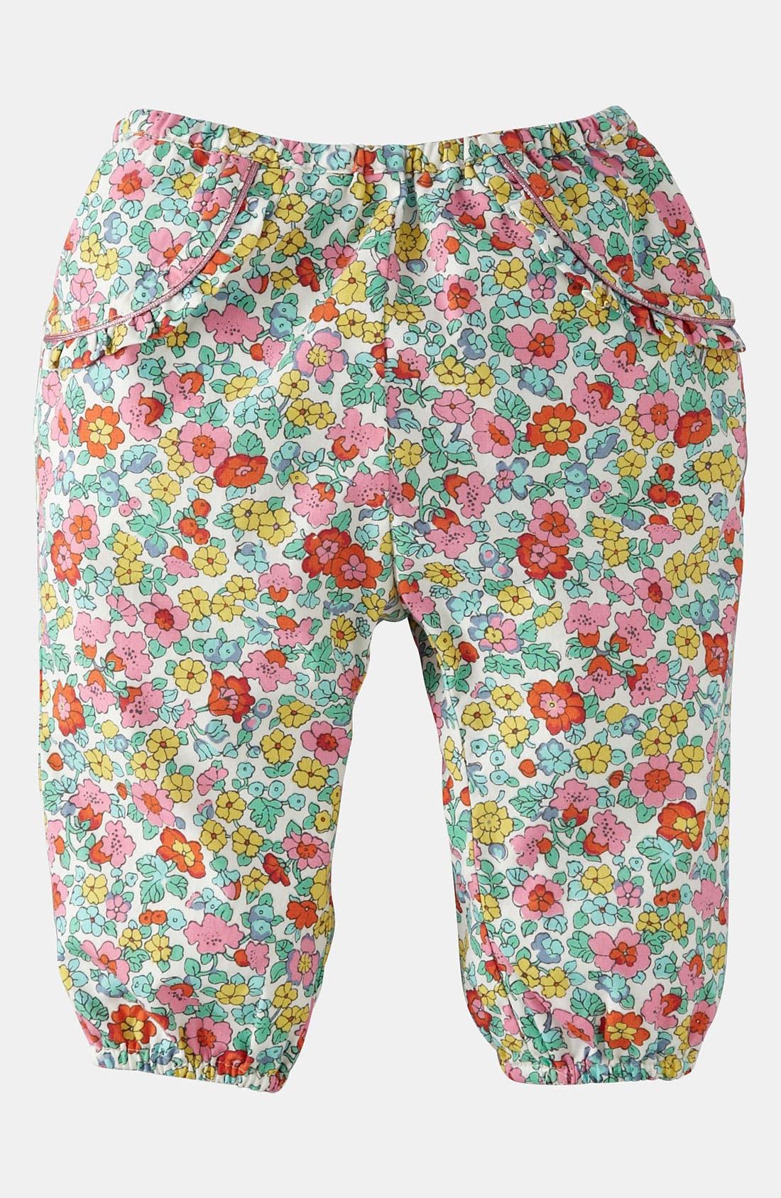 Main Image - Mini Boden 'Pretty' Pants (Baby)