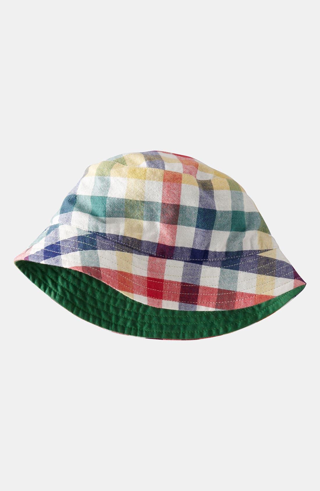 Main Image - Mini Boden Reversible Hat (Toddler)