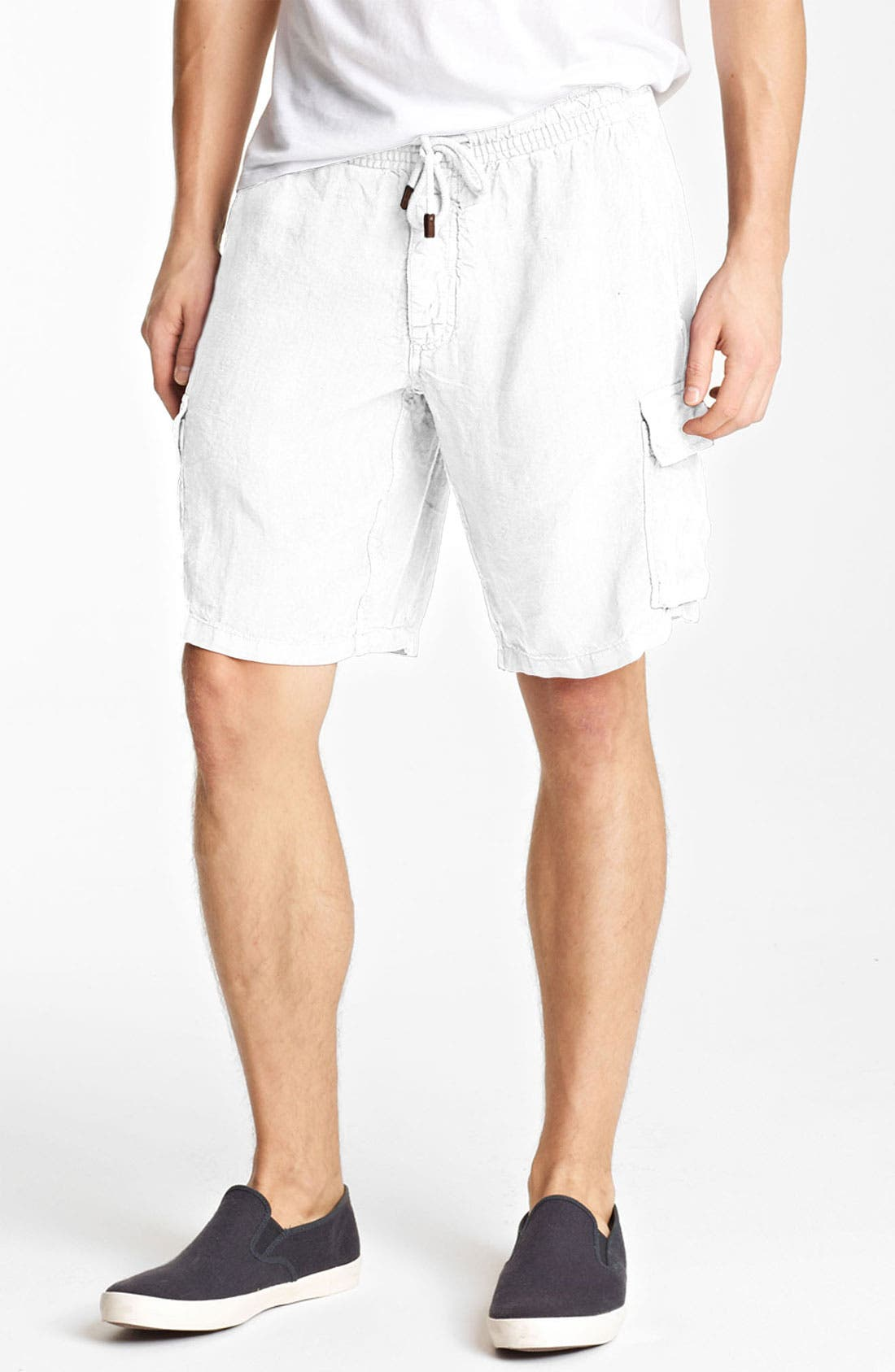Alternate Image 1 Selected - Vilebrequin 'Baie' Linen Cargo Shorts