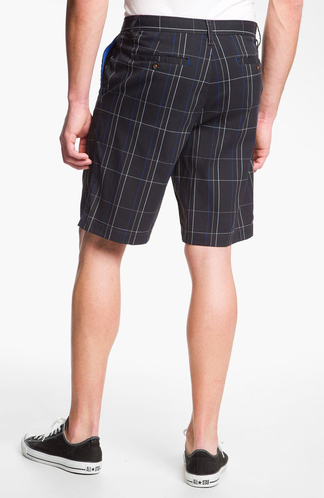 Alternate Image 2  - Tommy Bahama 'Grid Life' Flat Front Shorts (Online Only)