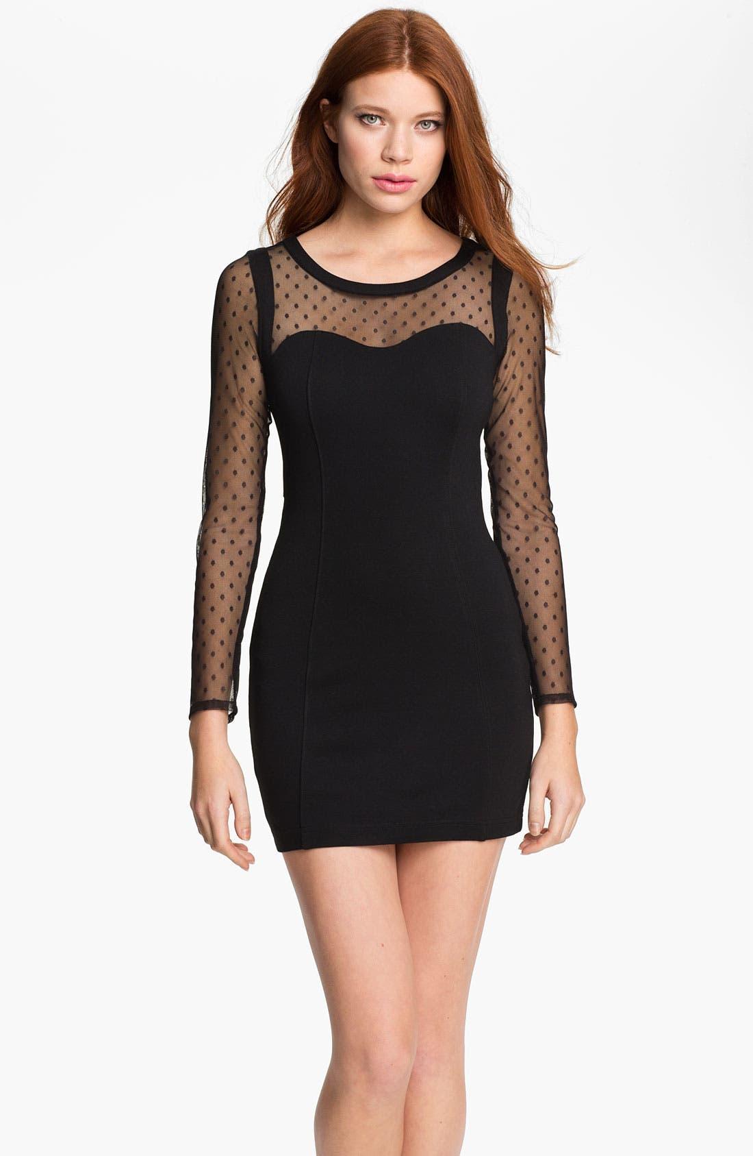 Alternate Image 1 Selected - Keepsake the Label 'Devotion' Contoured Mini Dress