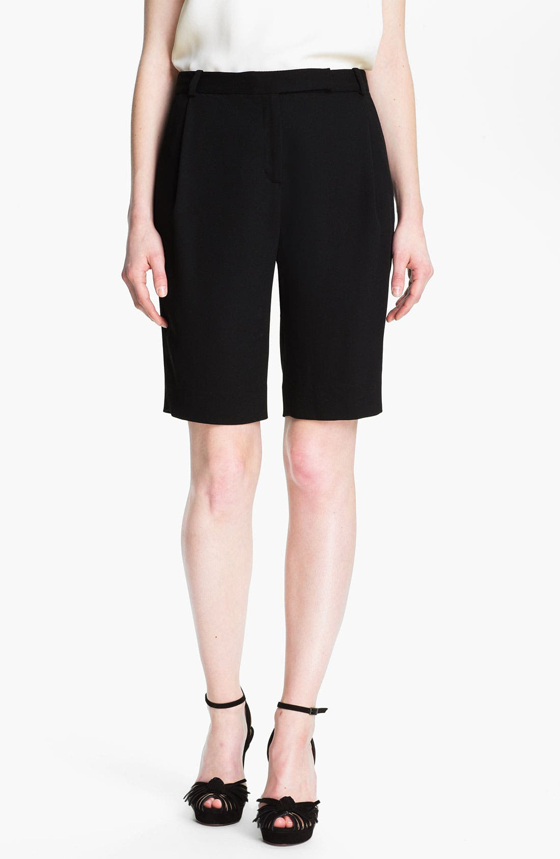 Alternate Image 1 Selected - Halston Heritage Gabardine Bermuda Shorts